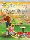A Dream of His Own (eBook)